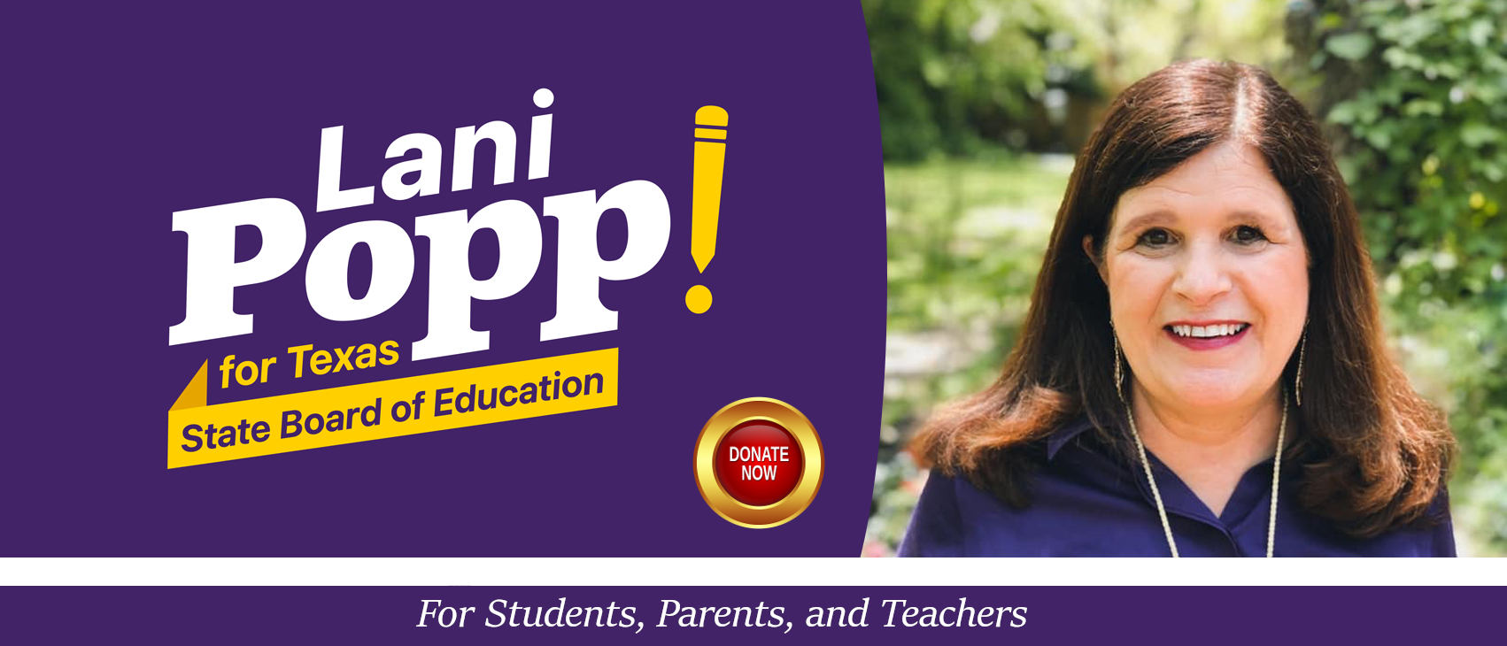 Lani Popp for State Board of Education District 5